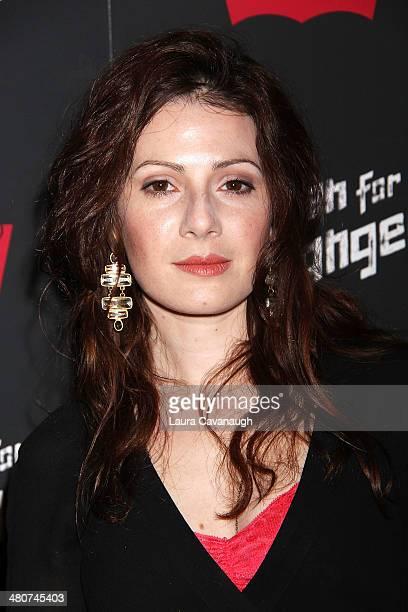 Aleksa Palladino attends the 'Mistaken For Strangers' screening at Sunshine Landmark on March 26 2014 in New York City