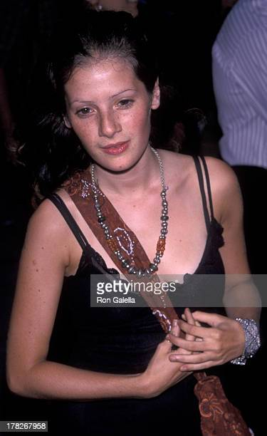 Aleksa Palladino attends the premiere of 'The Adventures of Sebastian Cole' on August 4 1999 at Loew's Vilalge Theater in New York City
