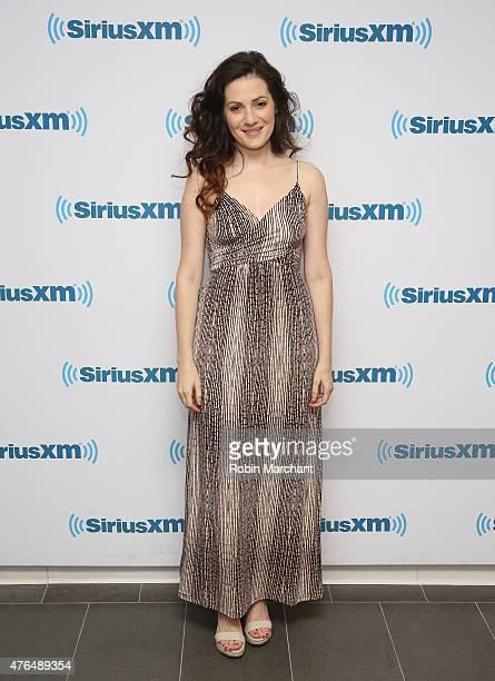 Aleksa Palladino visits at SiriusXM Studios on June 9 2015 in New York City