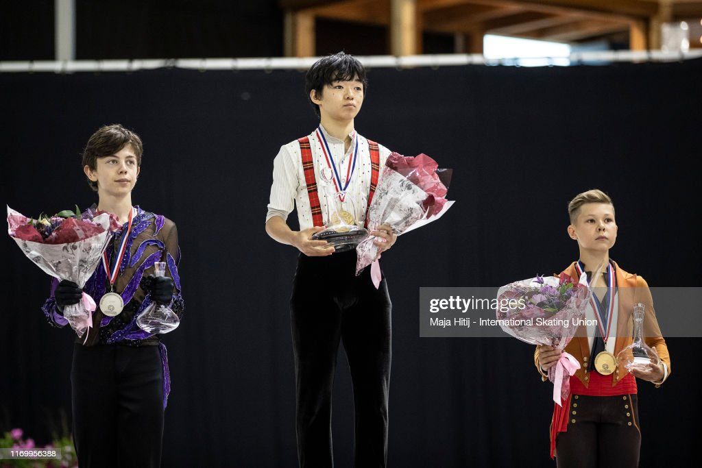 ISU Junior Grand Prix of Figure Skating - Grand Prix de Courchevel : ニュース写真