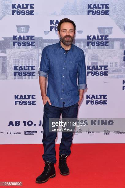Aleksandar Jovanovic attends the premiere of the movie 'Kalte Fuesse' at Mathaeser Filmpalast on January 6 2018 in Munich Germany