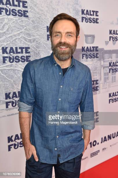 Aleksandar Jovanovic attends the premiere of the movie 'Kalte Fuesse' at Mathaeser Filmpalast on December 6 2018 in Munich Germany