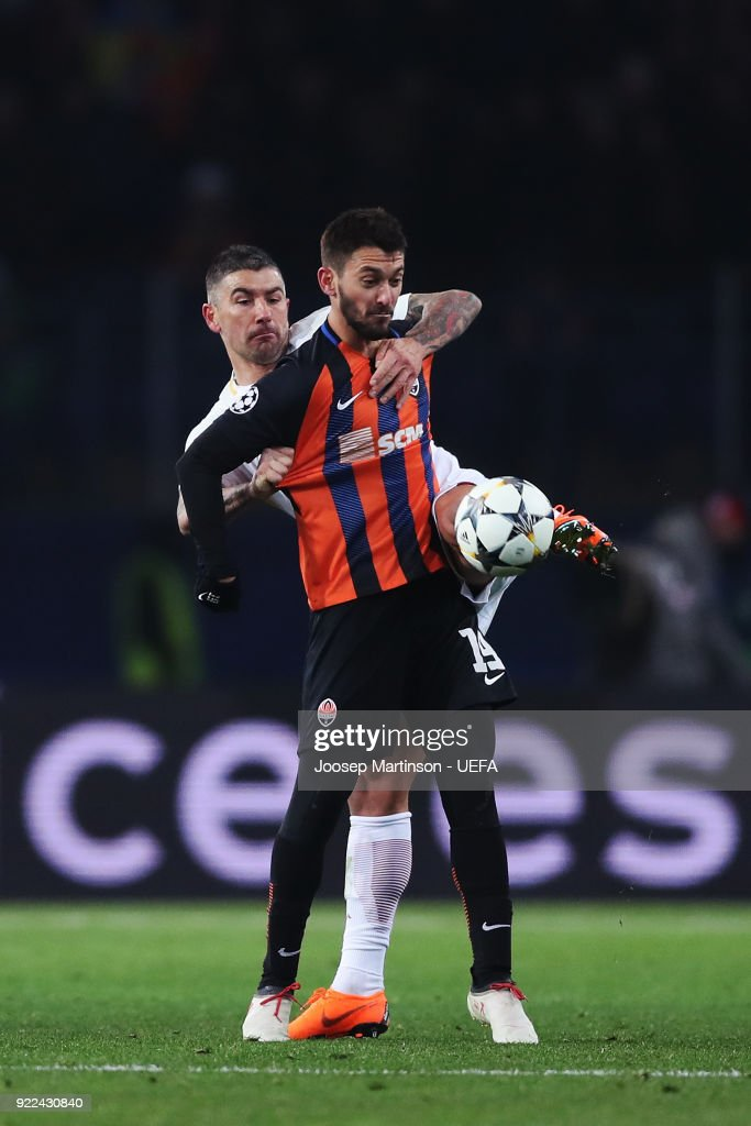 Shakhtar Donetsk v AS Roma - UEFA Champions League Round of 16: First Leg : Nachrichtenfoto