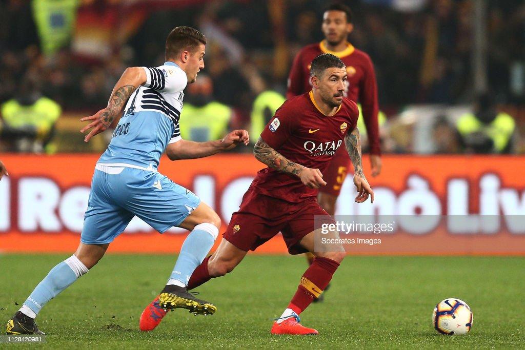 Lazio v AS Roma - Italian Serie A : News Photo