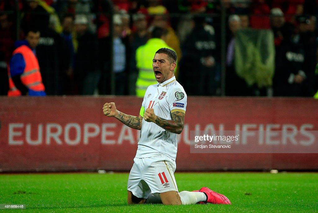 Albania v Serbia - UEFA EURO 2016 Qualifier