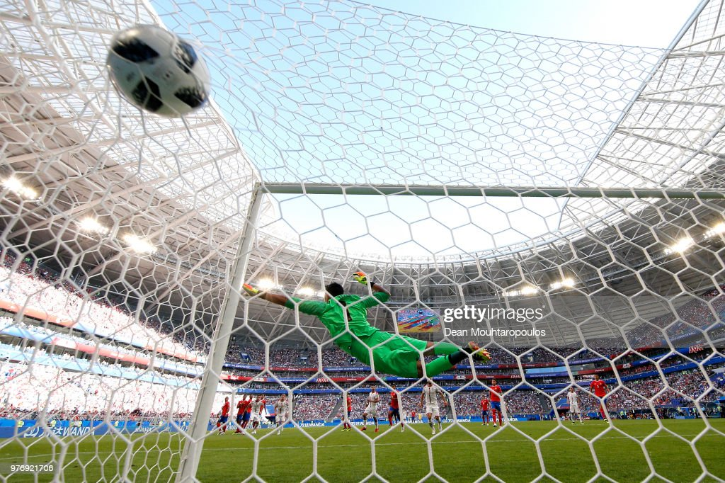 Costa Rica v Serbia: Group E - 2018 FIFA World Cup Russia : News Photo