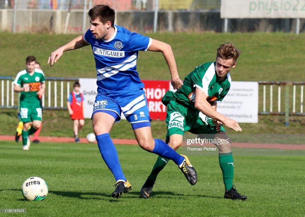 AUT: FC Stadlau v Mattersburg Amateure - Regionalliga Ost