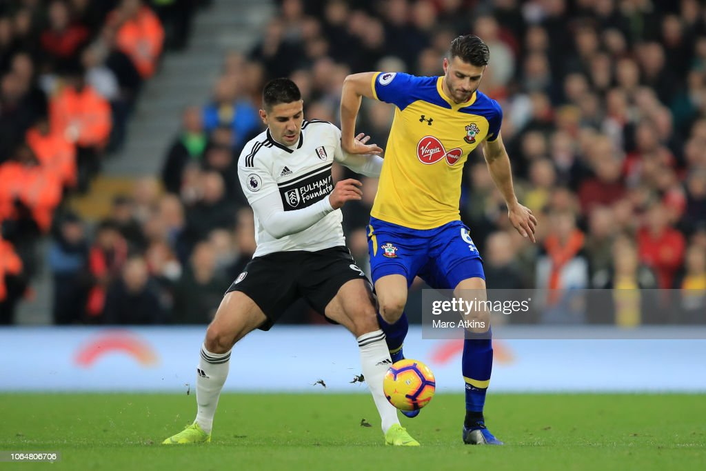 Fulham FC v Southampton FC - Premier League : News Photo