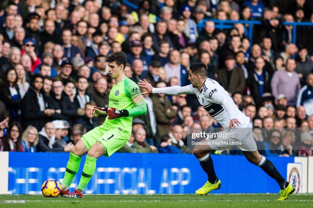 Chelsea FC v Fulham FC - Premier League : News Photo