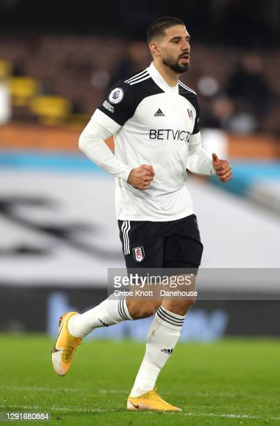 Aleksandar Mitrovic of Fulham FC during the Premier League match between Fulham and Brighton & Hove Albion at Craven Cottage on December 16, 2020 in...