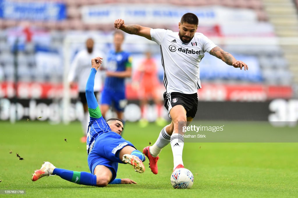 Wigan Athletic v Fulham - Sky Bet Championship : News Photo