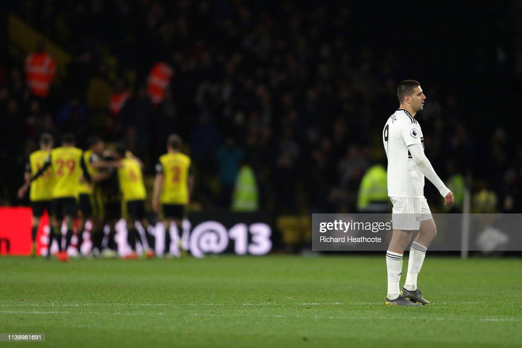 Watford FC v Fulham FC - Premier League : News Photo