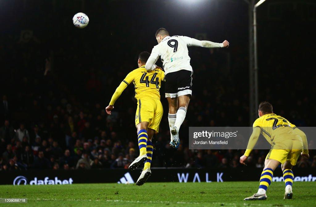 Fulham v Swansea City - Sky Bet Championship : News Photo