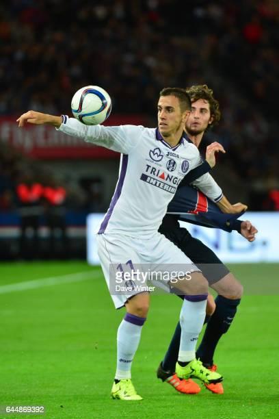 Aleksandar PESIC / Adrien RABIOT PSG / Toulouse 13eme journee de Ligue 1 Photo Dave Winter / Icon Sport