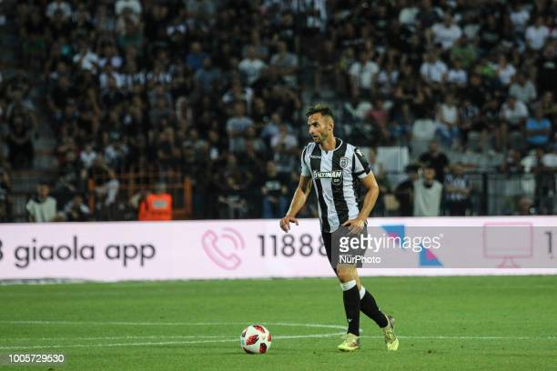 Aleksandar Prijovic of PAOK during Champions League second qualifying round first leg football match between PAOK FC and FC Basel at the Toumba...