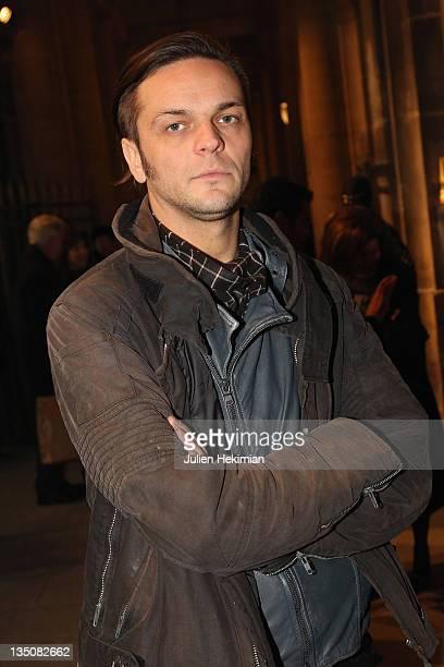 Aleksandar Protic attends 'Les Nouveaux Talents de la Mode 2011' at Ministere de la Culture on January 20 2011 in Paris France