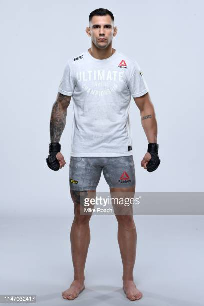 Aleksandar Rakic of Austria poses for a portrait during a UFC photo session on May 29 2019 in Stockholm Sweden