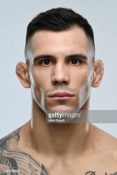 Aleksandar Rakic of Austria poses for a portrait during a UFC photo session on December 18 2019 in Busan South Korea