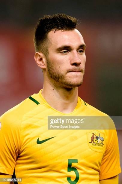 Aleksandar Susnjar of Australia during the AFC U23 Championship China 2018 Group D match between South Korea and Australia at Kunshan Sports Center...