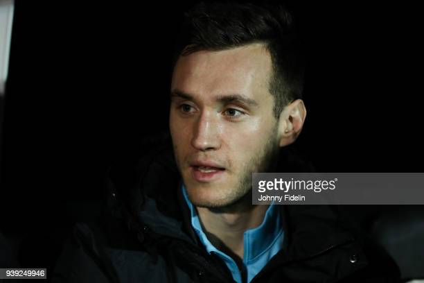 Aleksandar Susnjar of Australia during the International friendly match between Colombia and Australia at Craven Cottage on March 27 2018 in London...