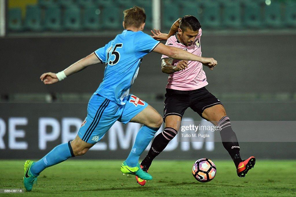 Us Citta di Palermo v Olympique Marseille