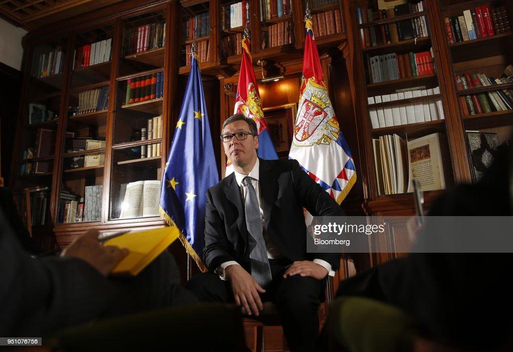 Serbia's President Aleksander Vucic Interview