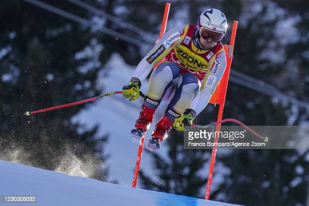 Aleksander Aamodt Kilde of Norway during the Audi FIS Alpine Ski World Cup Men's Downhill Training on December 26 - December 27, 2020 in Bormio Italy.