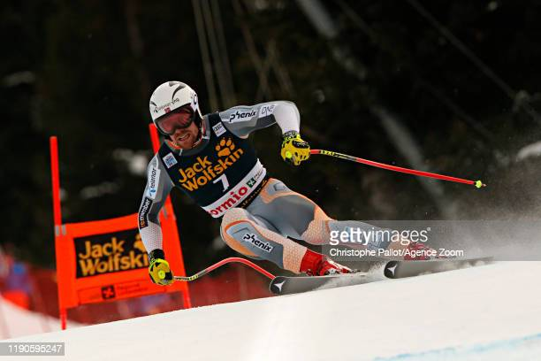 Aleksander Aamodt Kilde of Norway in action during the Audi FIS Alpine Ski World Cup Men's Downhill on December 27, 2019 in Bormio Italy.