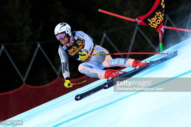 Aleksander Aamodt Kilde of Norway in action during the Audi FIS Alpine Ski World Cup Men's Alpine Combined on December 29, 2019 in Bormio Italy.