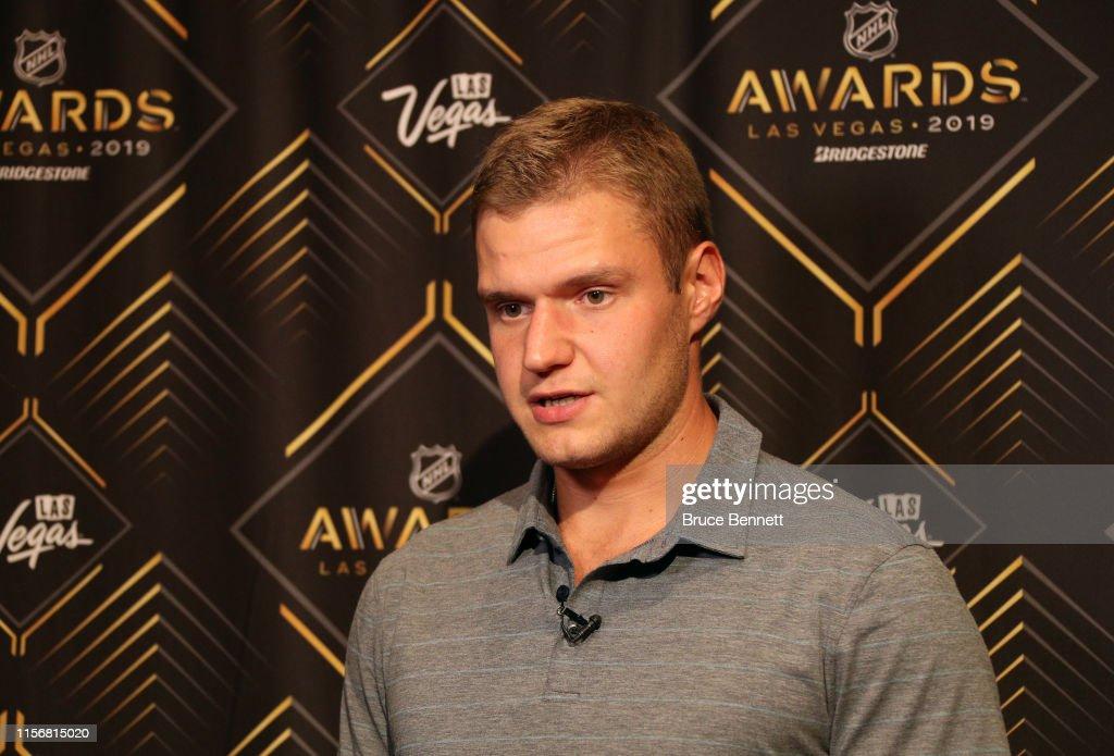 2019 NHL Awards - Nominee Media Availability : News Photo