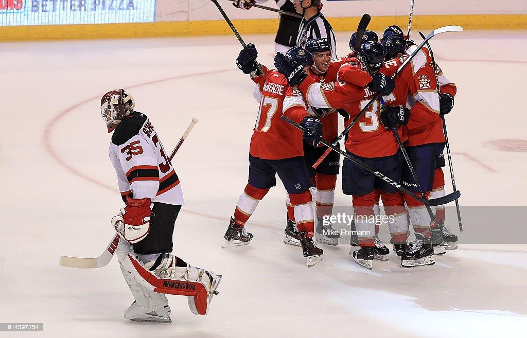 New Jersey Devils v Florida Panthers