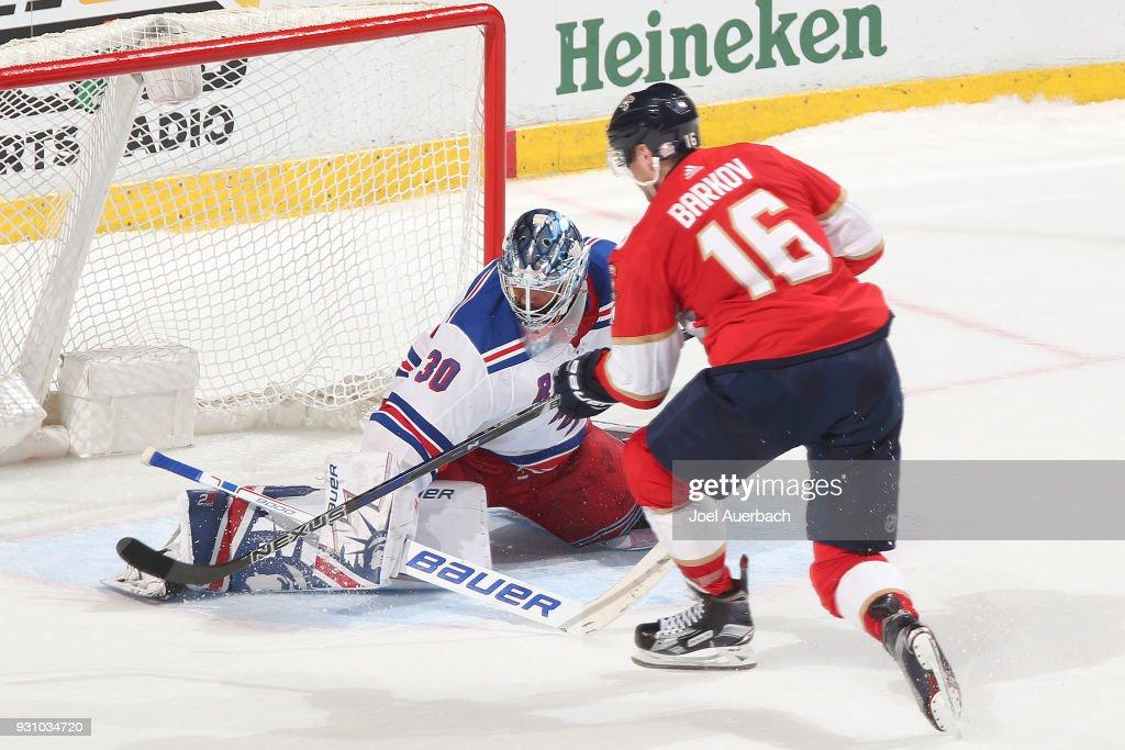 New York Rangers v Florida Panthers : News Photo