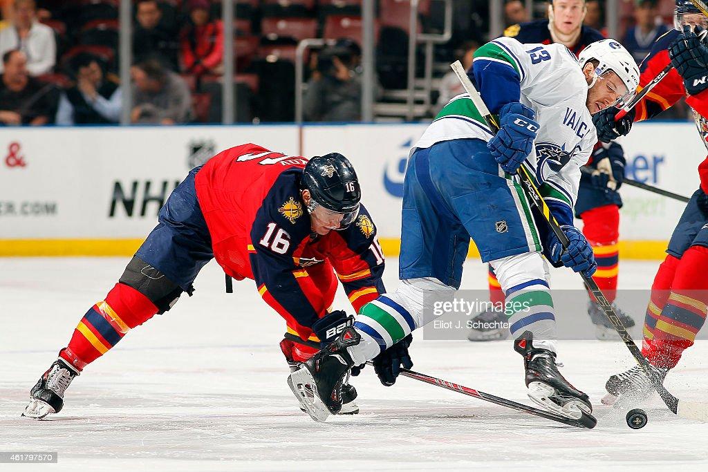 Vancouver Canucks v Florida Panthers : News Photo