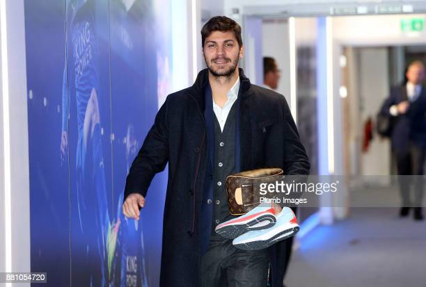Aleksander Dragovic ahead of the Premier League match between Leicester City and Tottenham Hotspur at King Power Stadium on November 28th 2017 in...