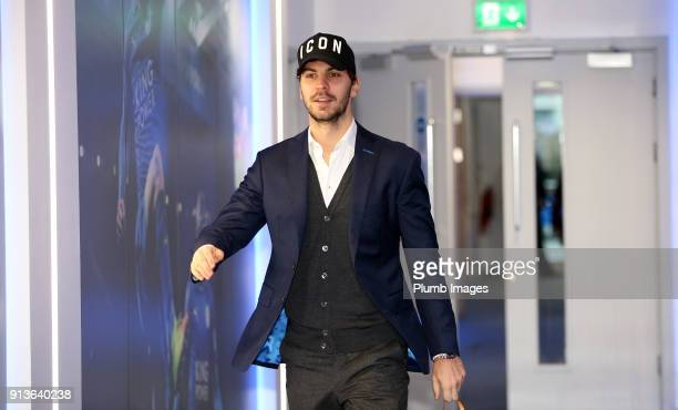 Aleksander Dragovic ahead of the Premier League match between Leicester City and Swansea City at King Power Stadium on February 03rd 2018 in...