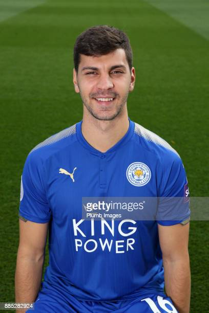 Aleksander Dragovic during the Leicester City Official Team Group on November 1 2017 in Leicester United Kingdom