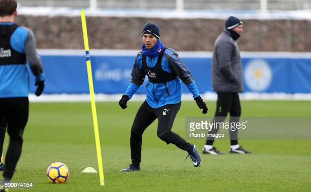 Aleksander Dragovic during the Leicester City training session at Belvoir Drive Training Complex on December 11 2017 in Leicester United Kingdom
