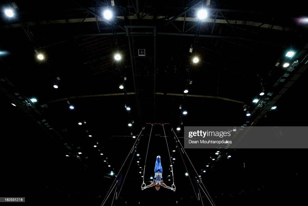 Artistic Gymnastics World Championships Belgium 2013 - Day One
