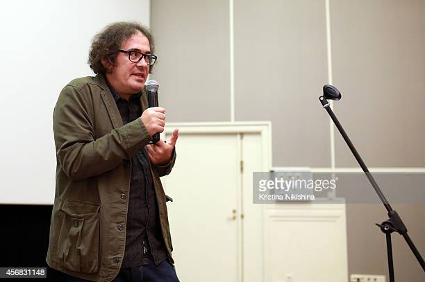 Aleksandr Dulerayn attends the Concerned Russian premiere of Boris Khlebnikov's TNT Series during the Saint Petersburg International Media Forum at...