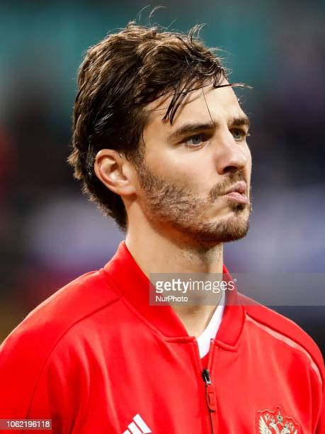 Aleksandr Erokhin of Russia looks on during the international friendly match between Germany and Russia on November 15 2018 at Red Bull Arena in...