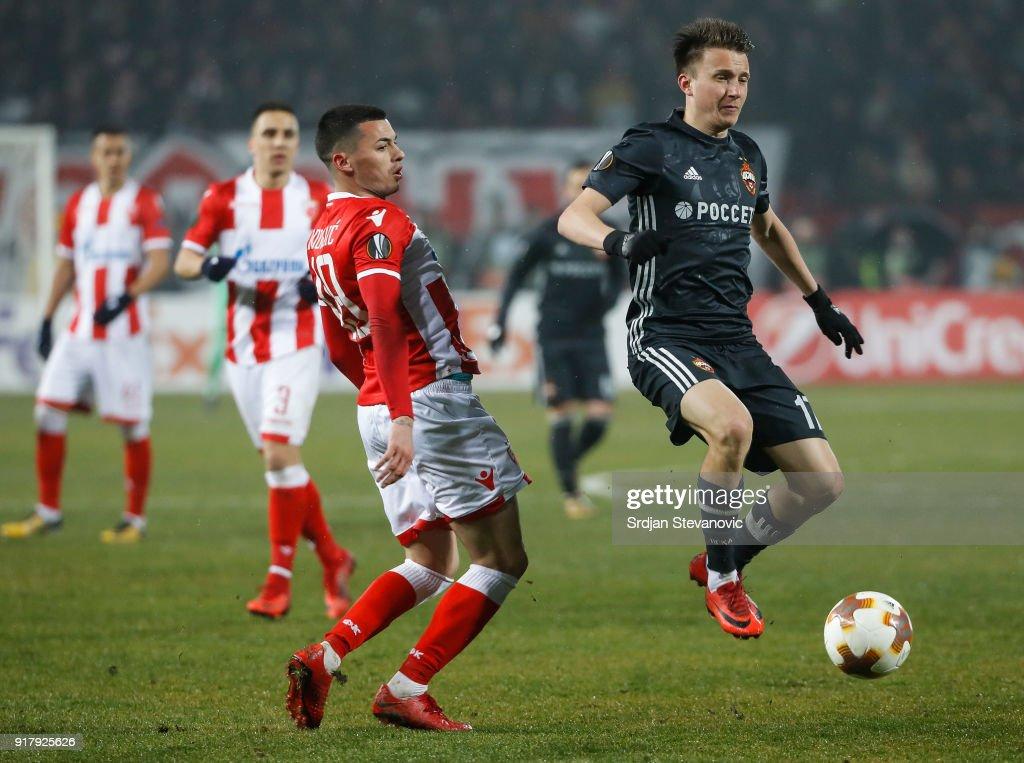 Αποτέλεσμα εικόνας για cska moscow crvena zvezda europa league