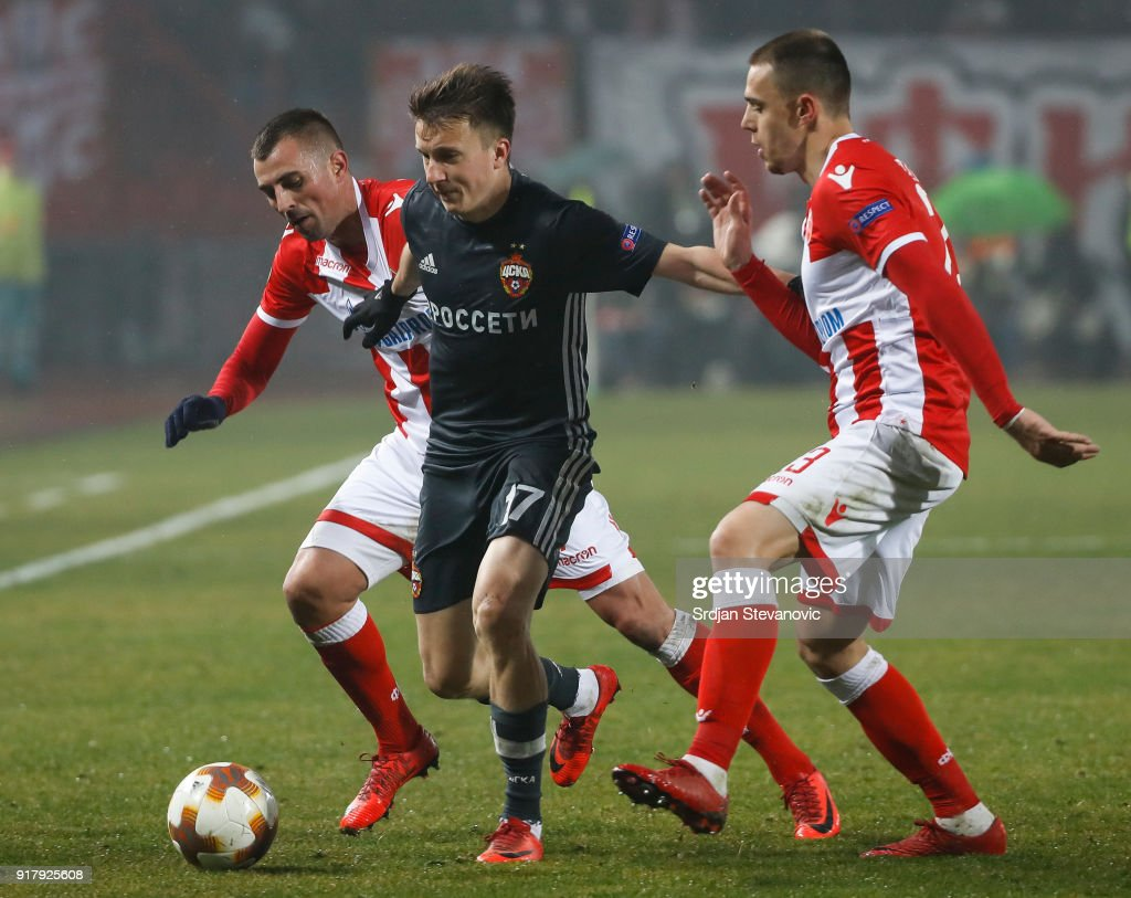 Red Star Belgrade v CSKA Moscow - UEFA Europa League