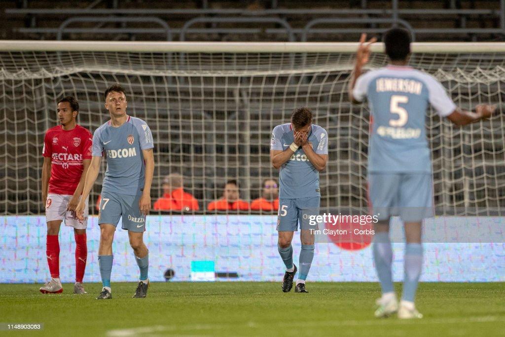 Nimes V Monaco. French Ligue 1. : News Photo