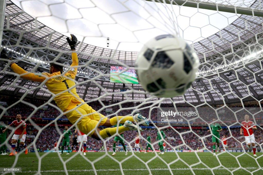 Russia v Saudi Arabia: Group A - 2018 FIFA World Cup Russia : ニュース写真