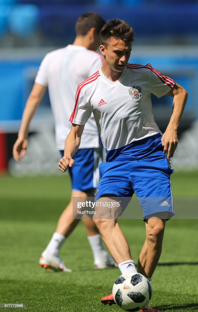 Russia Training Session - FIFA World Cup Russia 2018