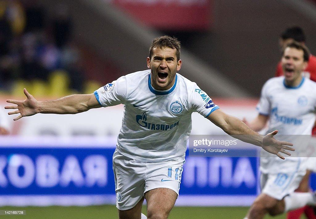 Spartak Moscow v Zenit St Petersburg - Russian Premier League