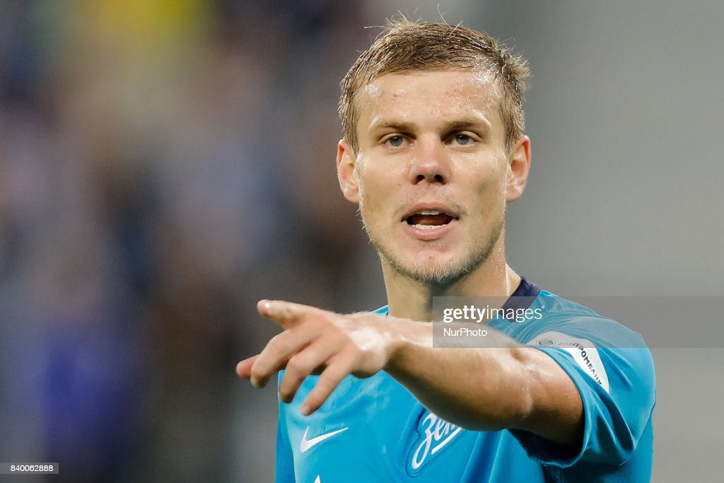 Zenit Saint Petersburg v Rostov - Russian Football Premier League : News Photo