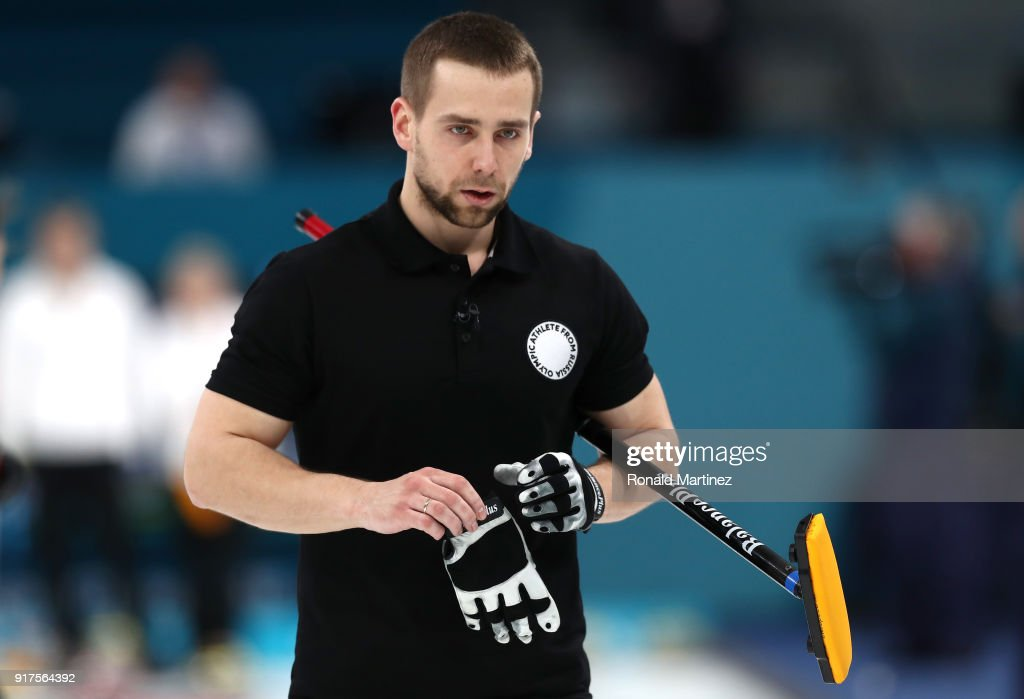 Curling - Winter Olympics Day 4 : News Photo