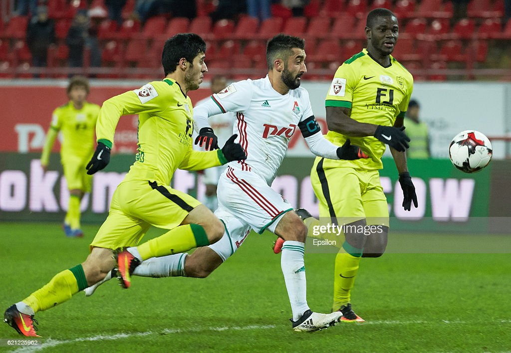 FC Lokomotiv Moscow v FC Anti Makhachkala - Russian Premier League