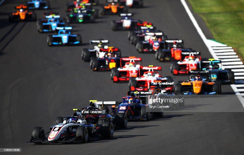Formula 3 Championship - Round 4:Silverstone - Second Race : News Photo